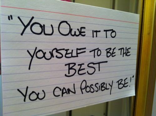 Laat gisteren, vandaag inspireren