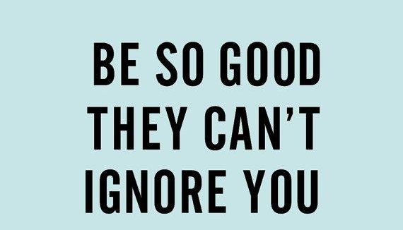 Wees niet bang om afgewezen te worden!