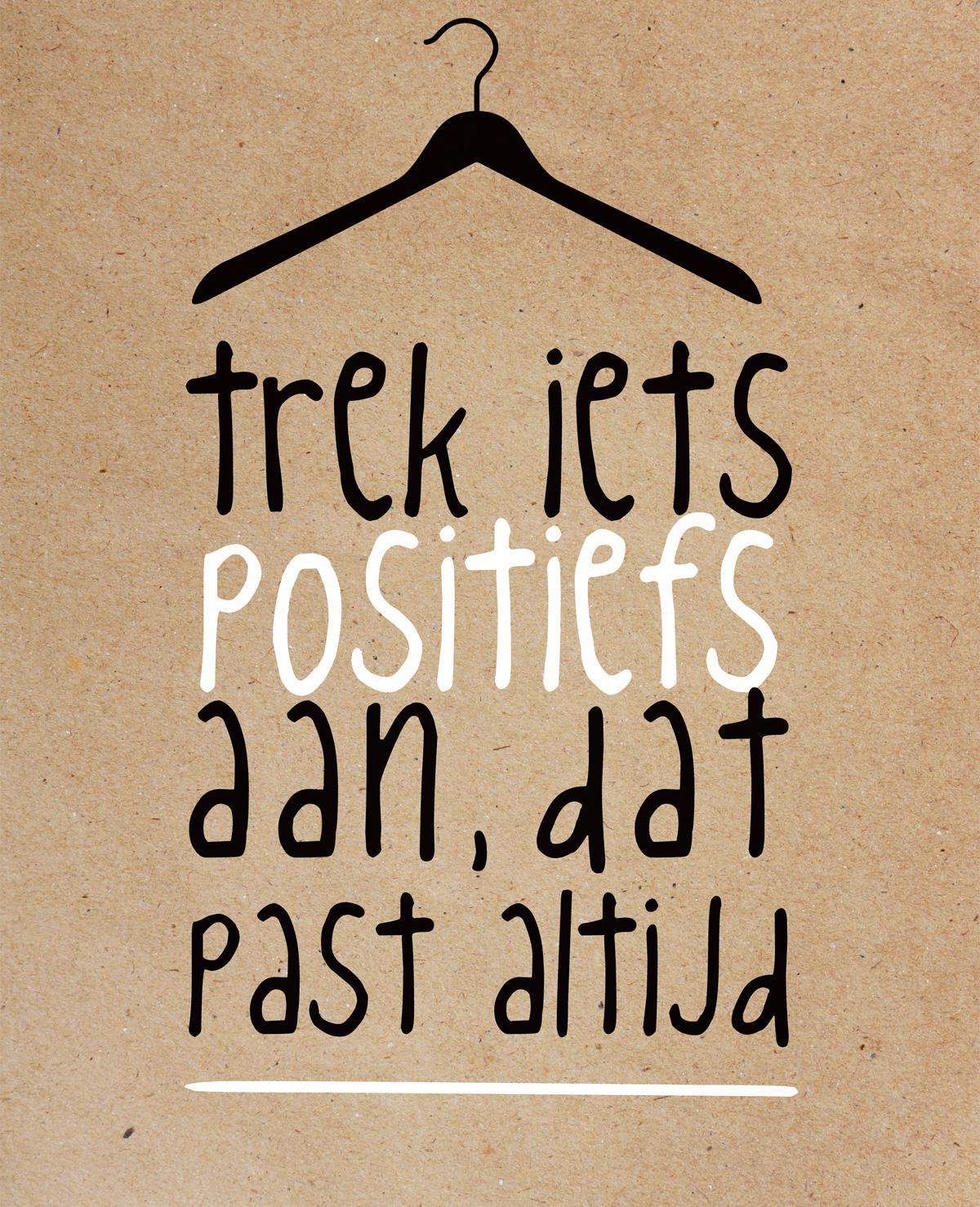 Een positieve mindset is een positieve leven
